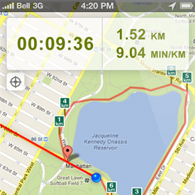Running Maps Find Running Routes Near You - How far did i run map